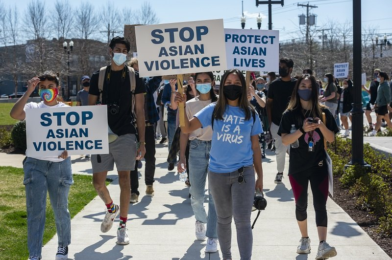 today.rowan.edu: Rowan students lead march for Asian solidarity