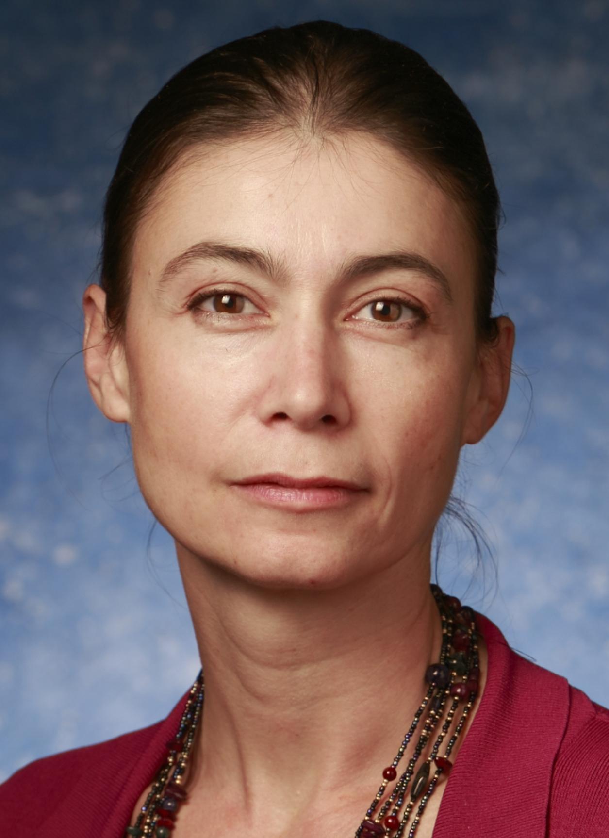 This is a portrait of Dr. Vojislava Pophristic