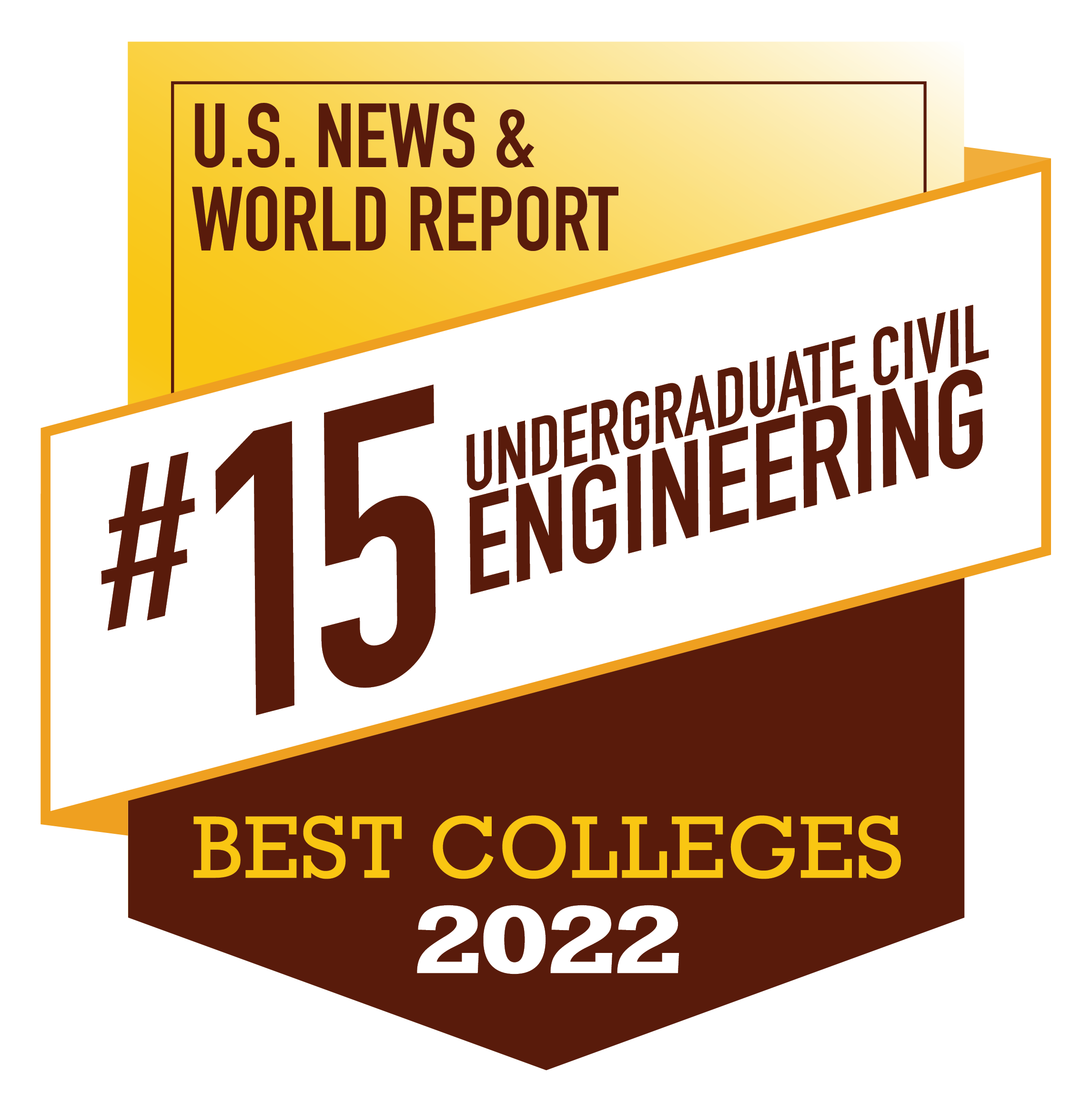 Civil engineering named 15th best by US News & World Report